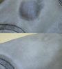 Удаление масляного пятна с куртки из анилиновой кожи